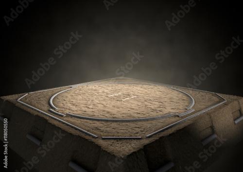 Fototapety do łazienki   sumo-ring-empty