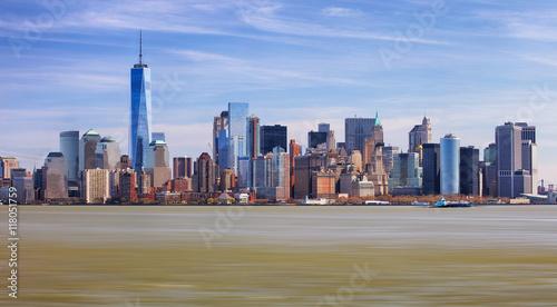 Photo  The Freedom Tower and Lower Manhattan Skyline