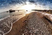 Seascape Near Petra Tou Romiou...