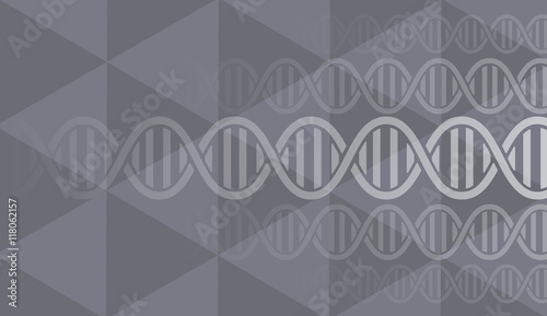 Foto op Plexiglas Retro sign dna and medical and technology background. futuristic molecule structure presentation