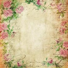 Vintage Background - Floral Il...