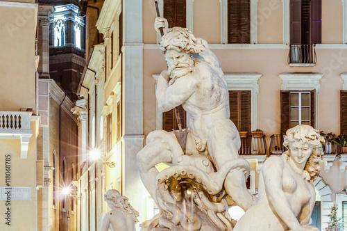 Fotografie, Obraz  Piazza Navona (Navona Square) in Rome, Italy