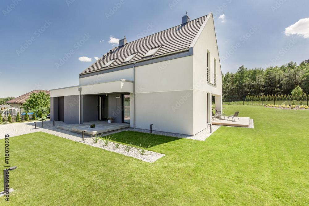 Fototapeta Simple modern house