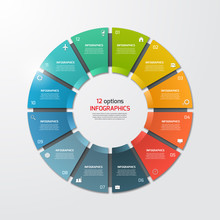 Pie Chart Circle Infographic T...