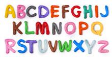 Handmade Plasticine Alphabet W...