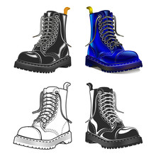 Boot . Creative Design Elements. Great Quality Vector Illustration.