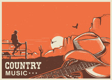 American Country Music Poster ...