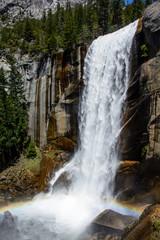 Fototapeta Wodospad Waterfall Rainbow