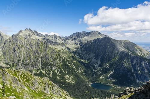 Mountain environment Popradzki Pond (Popradske Pleso, Rybie Pleso) #118164973