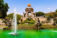 Fountain At Parc De La Ciutad...
