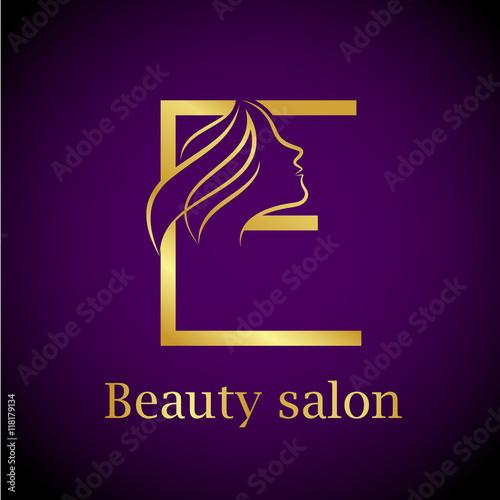 Abstract letter e logogold beauty salon logo design template buy abstract letter e logogold beauty salon logo design template altavistaventures Images