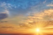 Bright Evening Sunset