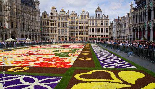 Staande foto Brussel Tapis de Fleurs 2016 in Brüssel