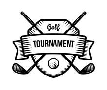 Golf Vector Logo. Summer Indiv...