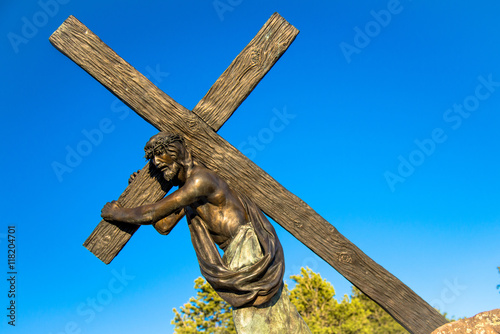 Photo Station of the Cross Landmark Colorado