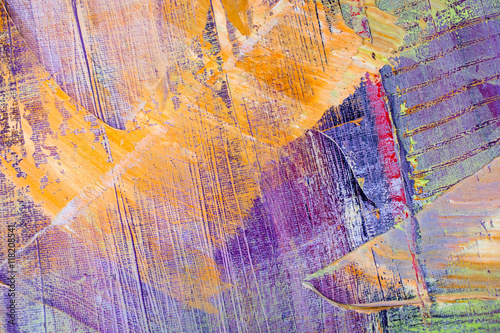 Wall Murals Newspapers Painting Artistic bright color oil paints texture abstract artwork. Modern futuristic pattern for grunge wallpaper, interior, album, flyer cover, poster, booklet background. Creative graphic design
