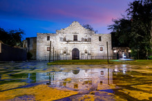 The Historic Alamo, San Antonio, Texas.
