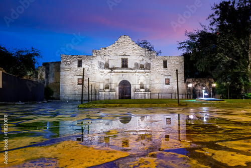 the Historic Alamo, San Antonio, Texas. Wallpaper Mural