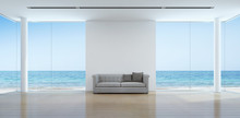 Sea View Living Room Interior ...