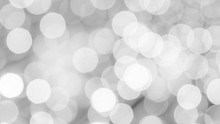 Black And White Bokeh For A Background.