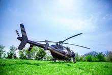 Black With Gray Stripes Bell 4...