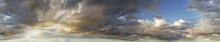 Seamless Sky Wide Panorama Wit...