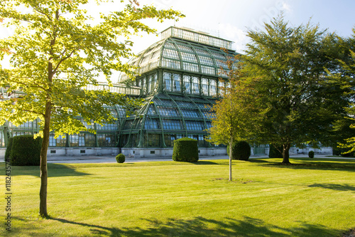 Orangery in the park in Vienna Wallpaper Mural