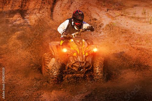 Plakat Wyścigi błotne ATV