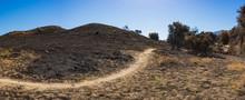 Long Trail Through Burn Zone