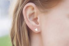 Woman Ear Wearing Beautiful Luxury Earring