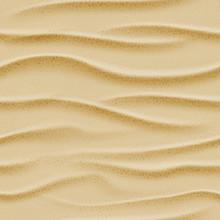 Top View Seamless Vector Sea Sand