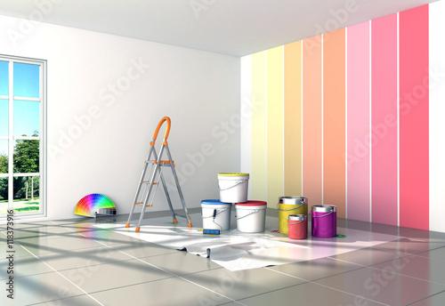 Fotografía  house painting