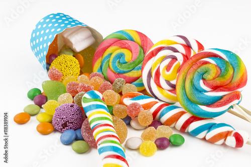 Fotobehang Snoepjes Şekerleme