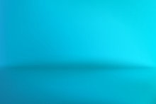 Background Studio Horizon Cyan Blue Vector