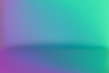 Background Studio Horizon Purple Green Vector