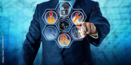 Láminas  Enterprise Client Activating Managed Services