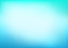 Abstract Blue Cyan Blurred Vec...
