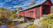 Beautiful Covered Bridge In Ve...