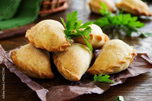 empanadas - Argentine fried meat pies. Fototapet