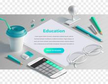 Mockup Scenes On Education The...