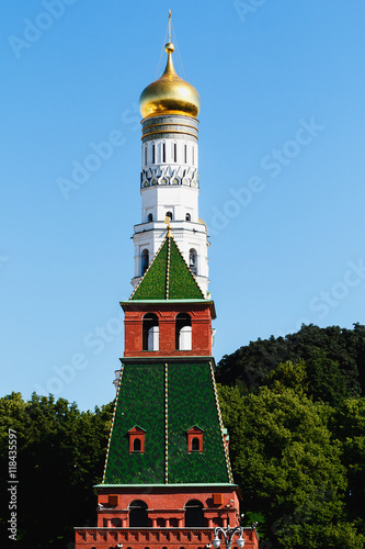 Ivan the Great Bell tower. Moscow Kremlin. UNESCO World Heritage Site. - 118435597