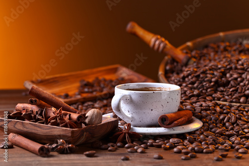 coffee and spices - 118439358