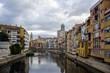 Town of Girona in Catalonia, Spain