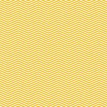 Yellow Zig Zag Lines Pattern - Background Design
