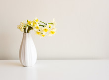 Small Bunch Of Jonquils In A W...