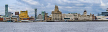 Liverpool Skyline From The Riv...