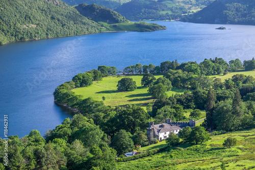 Carta da parati View of Ullswater Lake, Lake District, UK