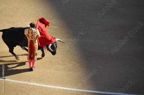 La pose en embrasure Corrida corrida bullfight