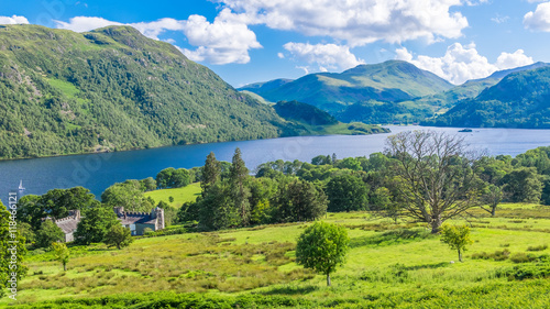 Fotografie, Obraz View of Ullswater Lake, Lake District, UK