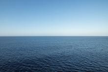 High View Over An Ocean Horizo...